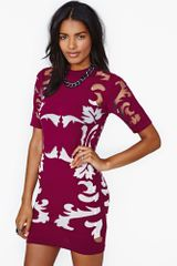 Nasty Gal Maurie Eve Mirage Dress - Lyst