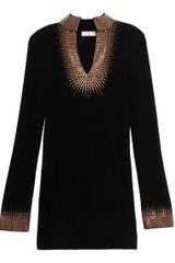 Tory Burch Embellished Tory Tunic - Lyst
