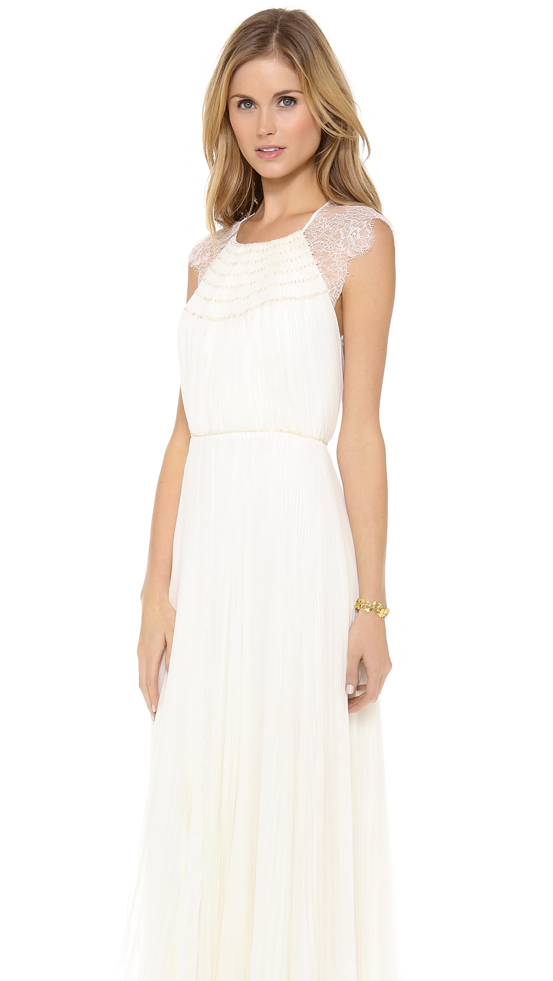 Catherine Deane Patsy Gown in Natural - Lyst