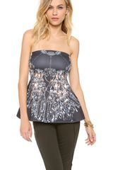 Clover Canyon Chandelier Strapless Top - Lyst