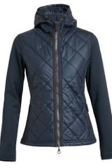 Frauenschuh Jackie Quilted Nylon and Neoprene Jacket - Lyst