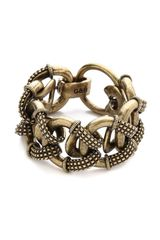 Giles & Brother Textured Cortina Chain Bracelet - Lyst