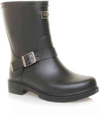 Hunter Shoreditch Ladies Short Boots - Lyst