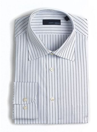 Joseph Abboud Striped Cotton Dress Shirt - Lyst