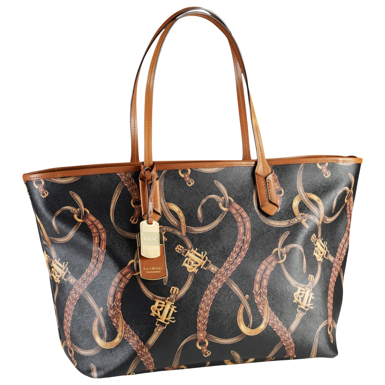383cb1befcc Lauren by Ralph Lauren Caldwell Classic Tote Bag - Lyst