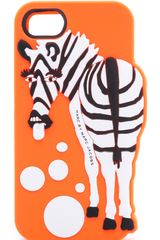 Marc By Marc Jacobs Zebra Raised Iphone Case - Lyst