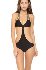 Mikoh Swimwear Makaha One Piece Swimsuit - Lyst