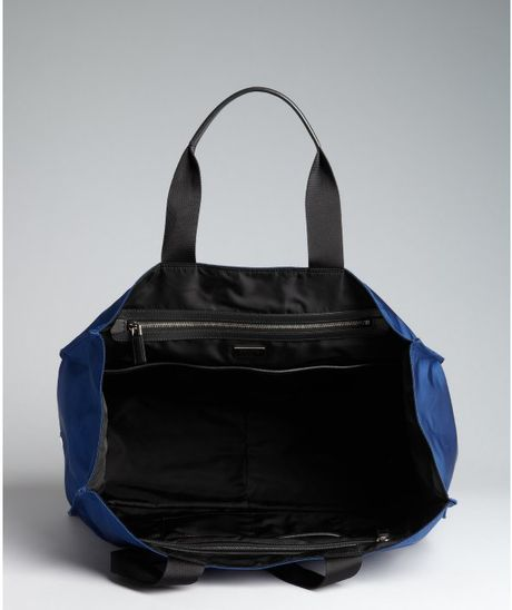 29c0a7da3c2577 Prada Black Nylon Bag Blue | Stanford Center for Opportunity Policy ...
