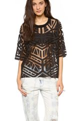 Sass & Bide The Back Streets Beaded Top - Lyst