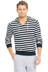 Tommy Hilfiger Stripe Hooded Sweater - Lyst