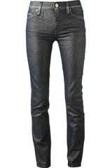7 For All Mankind Skinny Jean - Lyst