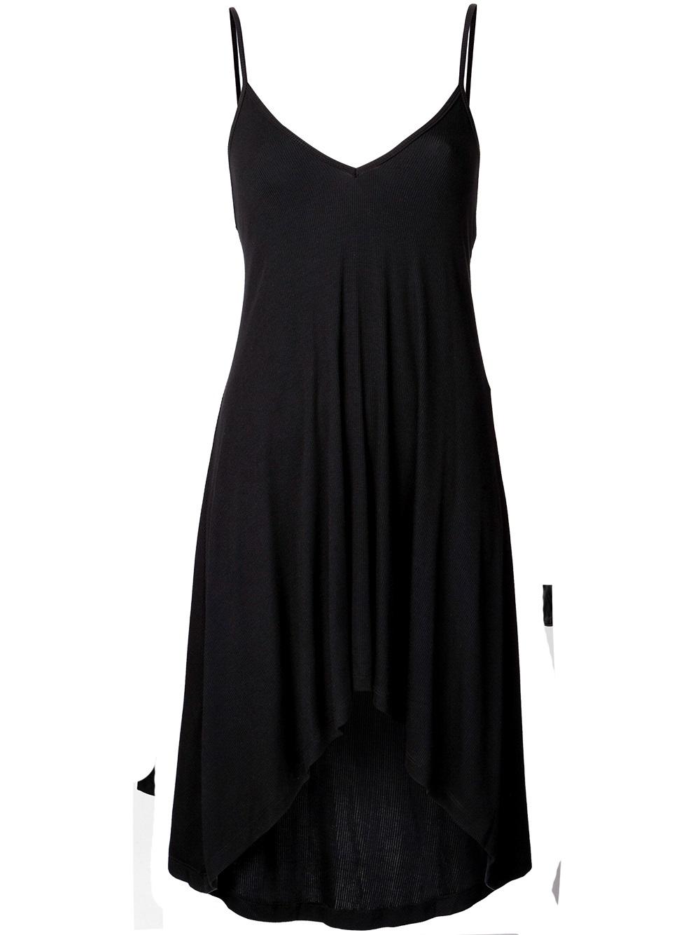 Lyst Again Trinity Nighty Dress In Black