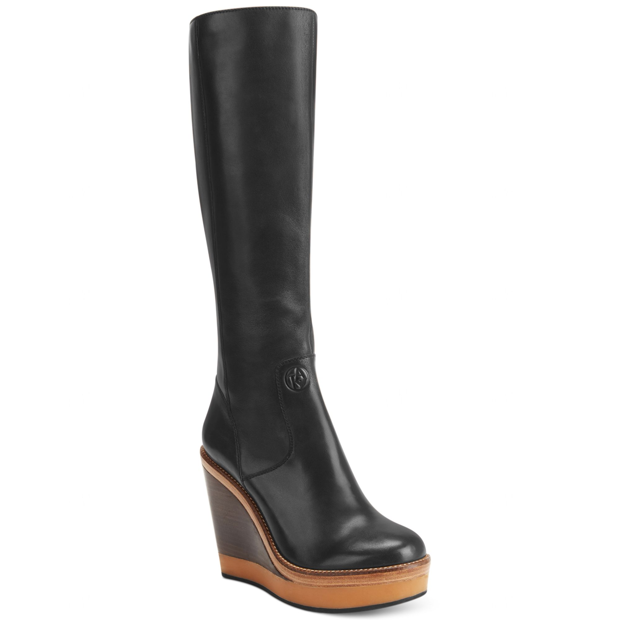 Armani Platform boots