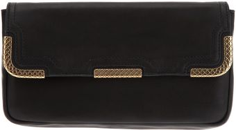 Bottega Veneta Trim Detail Clutch Bag - Lyst