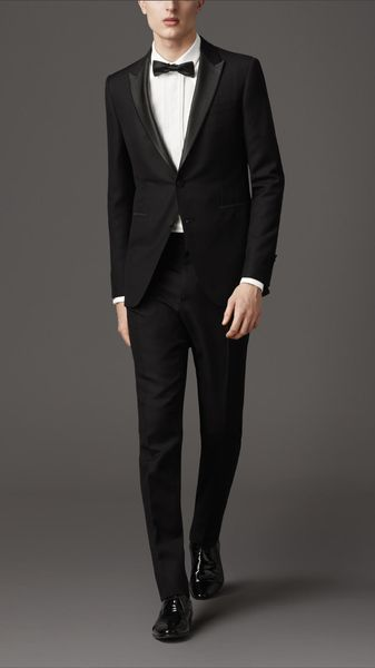 Burberry Modern Fit Compact Wool Mohair Suit - Lyst