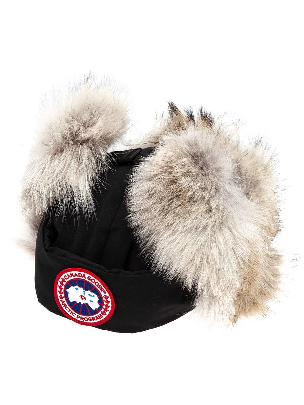 fec326ada1f Canada Goose Aviator Hat Womens