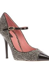 Dolce & Gabbana Tweed Pointed Toe Pumps - Lyst