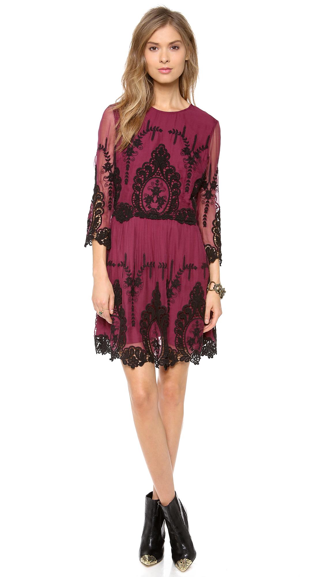 Lyst - Dolce Vita Valentina Dress in Purple