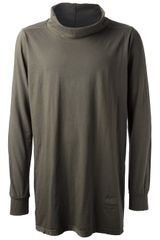 DRKSHDW by Rick Owens Turtleneck Sweater - Lyst