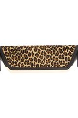 DSquared2 Leopard Print Clutch Bag - Lyst
