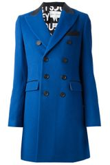 Each X Other Wool Blend Double-breasted Coat - Lyst