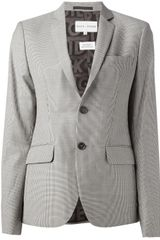 Each X Other Checked Blazer - Lyst