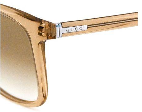 Gucci Gold Sunglasses Men Mens Sunglasses in Gold