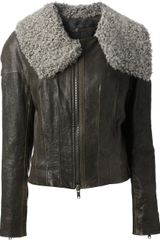 Haider Ackermann Leather Jacket - Lyst
