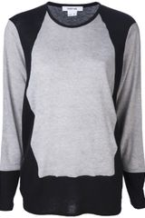 Helmut Lang Carved Sweater - Lyst