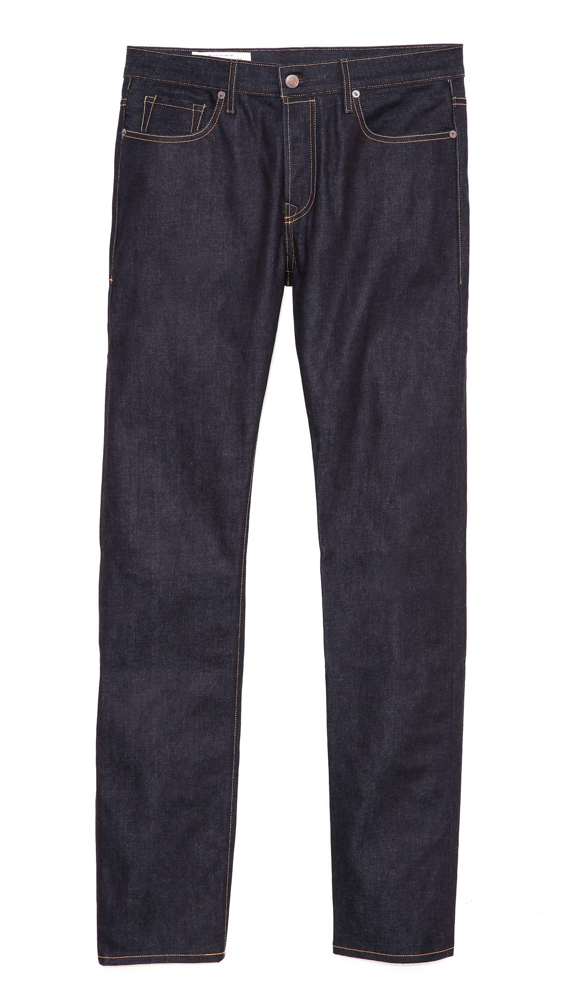 a109d3ea3 Imogene & Willie Barton Rigid Slim Straight Jeans in Blue for Men - Lyst