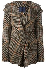 Lanvin Plaid Jacket - Lyst