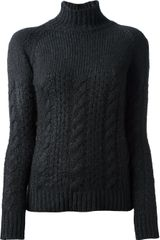 Marni Cable Knit Sweater - Lyst