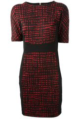 Michael by Michael Kors Fitted Dress - Lyst