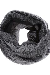 Missoni Knitted Funnel Scarf - Lyst