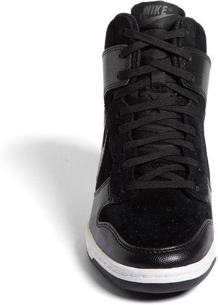 Nike Dunk Sky hi Wedge Sneaker Black Nike Dunk Sky hi Wedge