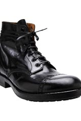 Officine Creative Round Toe Boot - Lyst