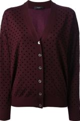 Paul Smith Black Label Polka Dot Cardigan - Lyst