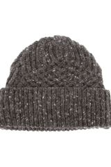 Paul Smith Knitted Beanie Hat - Lyst