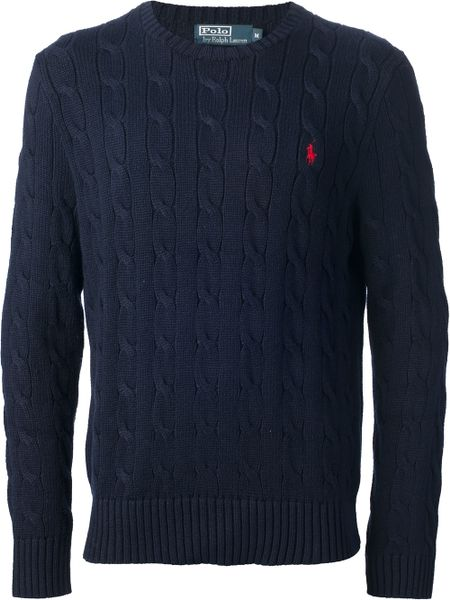 Polo Ralph Lauren Mens Cable Knit Sweater 20