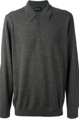 PS by Paul Smith Button Sweater - Lyst