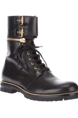 Sergio Rossi Buckled Boot - Lyst