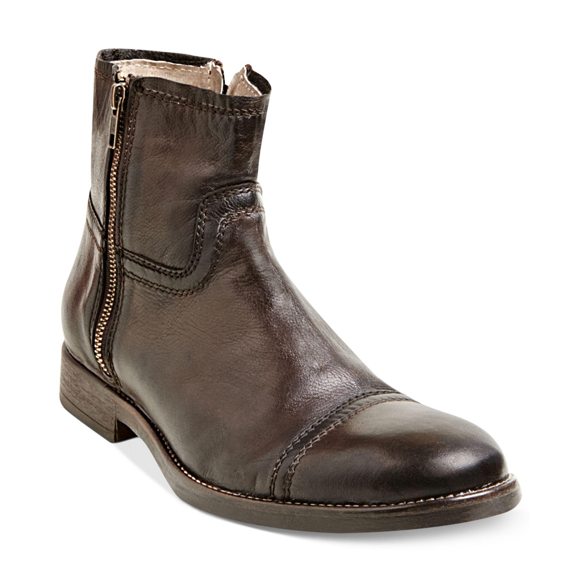 steve madden forza boots in brown for men lyst. Black Bedroom Furniture Sets. Home Design Ideas