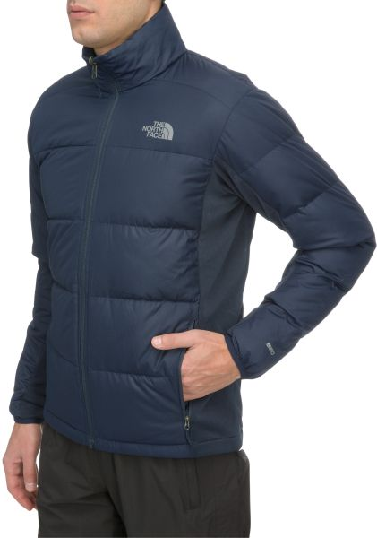 the north face mountain light triclimate 3in1 jacket in blue for men. Black Bedroom Furniture Sets. Home Design Ideas
