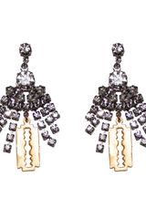 Tom Binns Cut Couture Earrings - Lyst