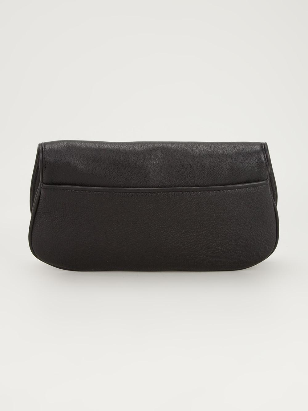 Lyst Tory Burch Chain Shoulder Strap Bag In Black