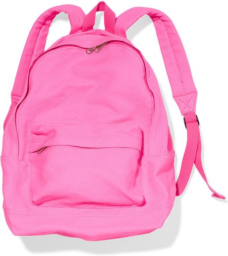 Book bags for school jansport - Victoria S Secret Classic Backpack In Pink Surfer Pink Lyst