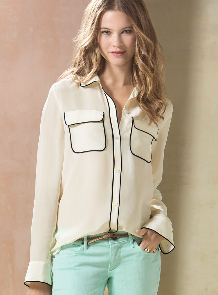 victoria secret jeans lookup beforebuying ForVictoria Secret Button Down Shirt