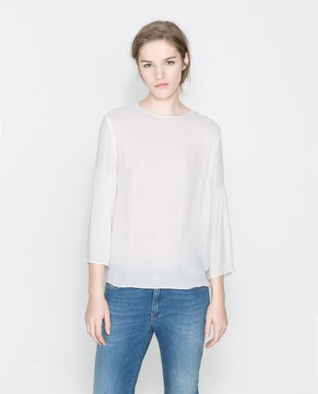 Zara Open Sleeve Blouse 62