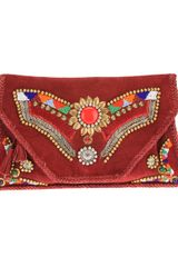 Antik Batik Embellished Clutch - Lyst