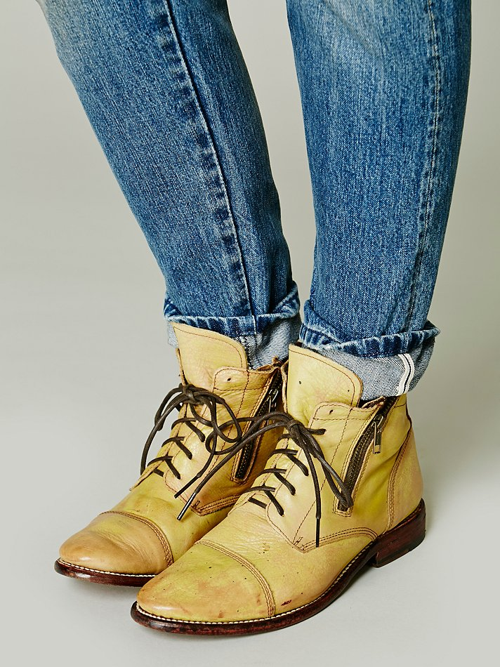 Lyst Bed Stu Double Rafter Boot In Yellow
